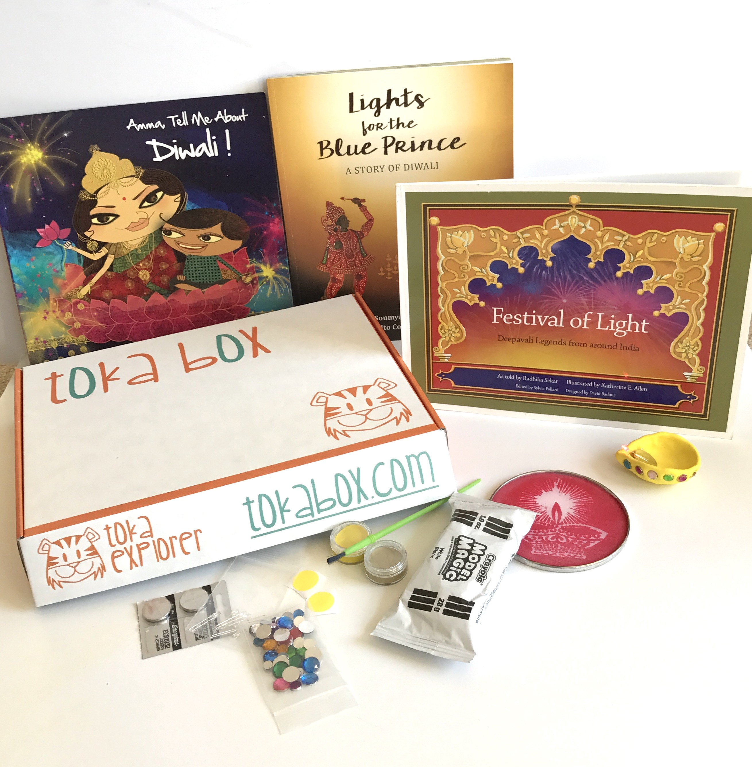 Toka Explorer Diwali Box for 5-8 yr olds