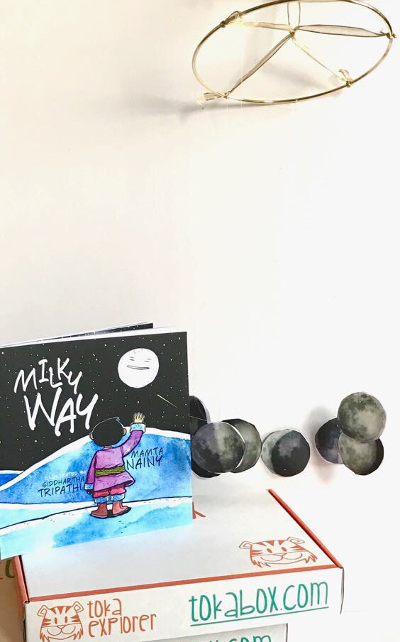 CLEARANCE SALE! - Milky Way and The Phases of the Moon