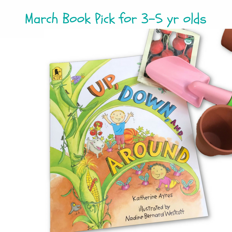Vegetable Garden books for children and preschoolers