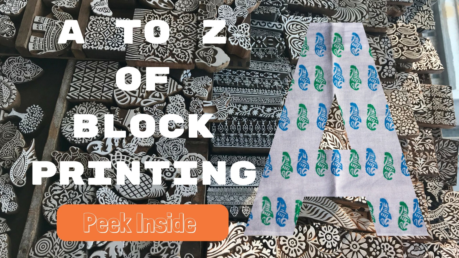 Block printing activities for kids