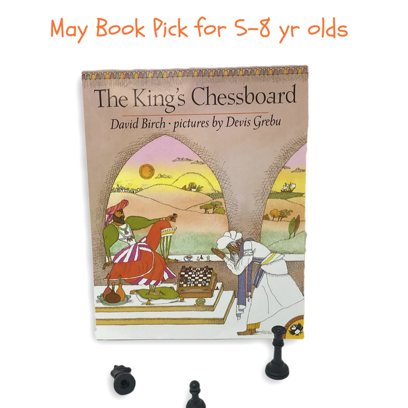 Math Books for Kids King's Chessboard
