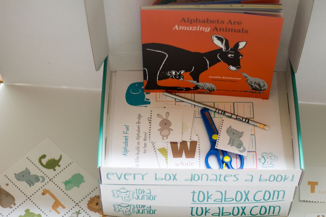 Alphabets are Amazing Animals - A Literacy Box for Preschoolers