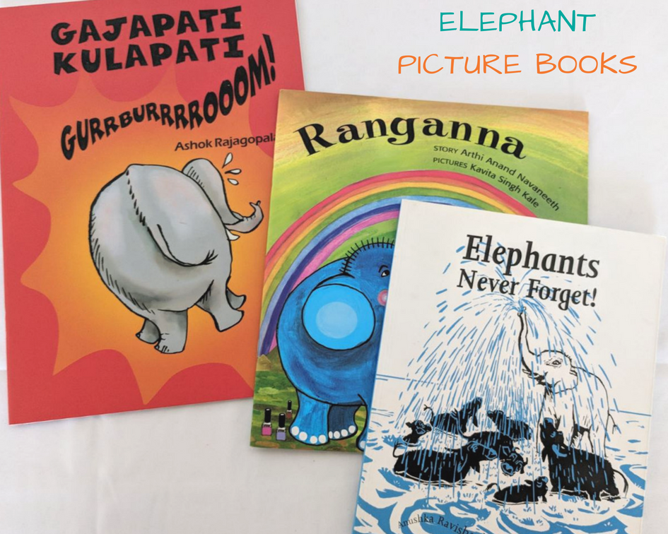 Popular Elephant Picture Book Bundle