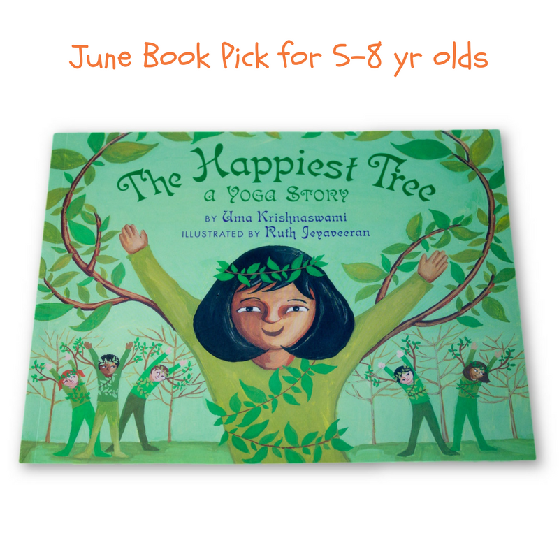 Yoga Books for Kids - The Happiest Tree