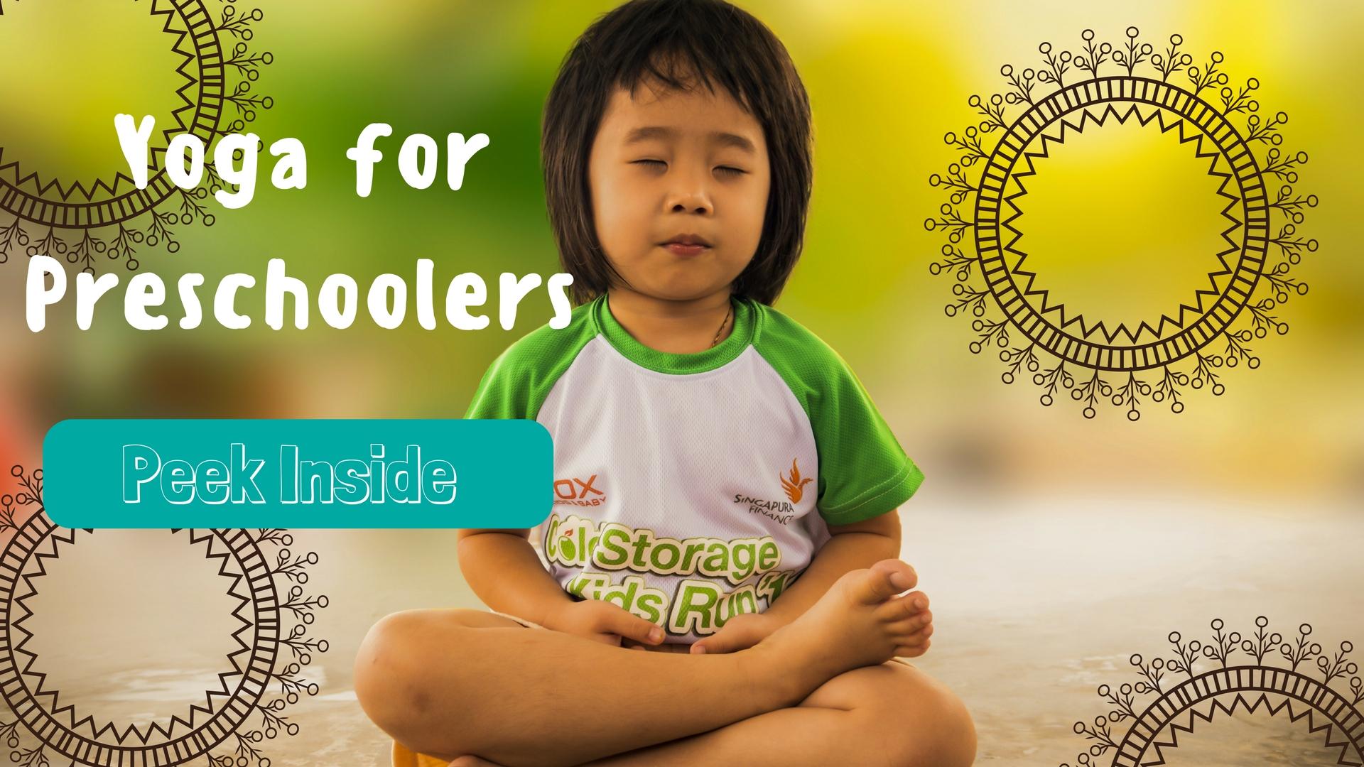 yoga for preschoolers