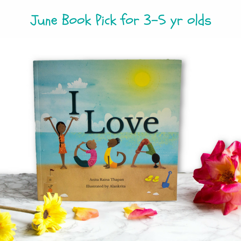 Yoga Books for children and preschoolers
