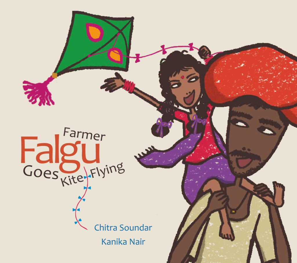 Farmer Falgu Goes Kite Flying!