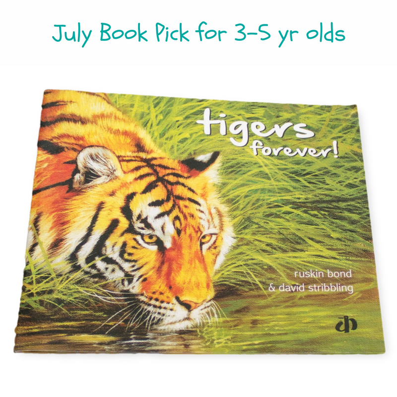Tiger Conservation Books for children and preschoolers
