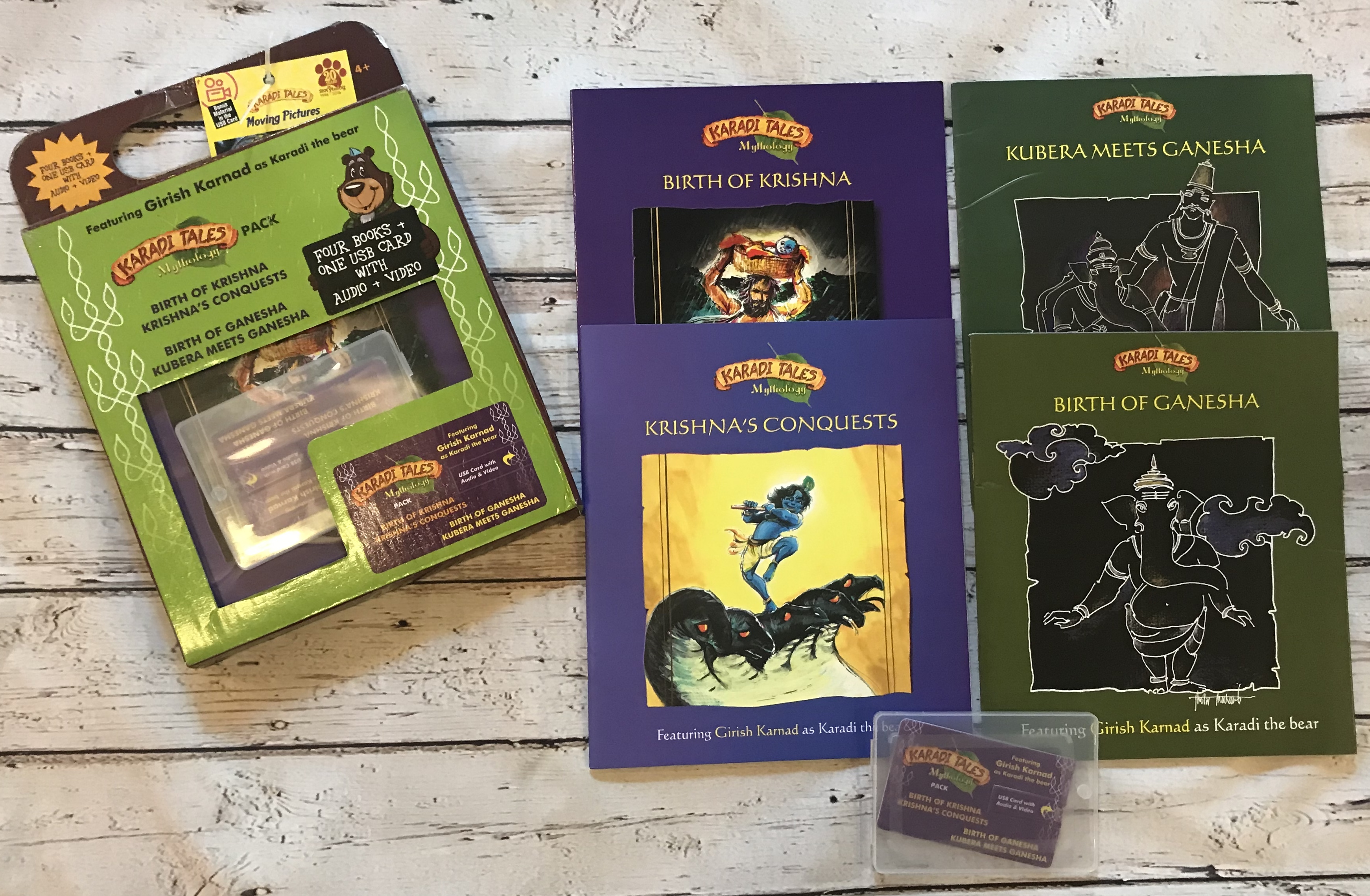 Mythology Ganesha and Krishna Pack