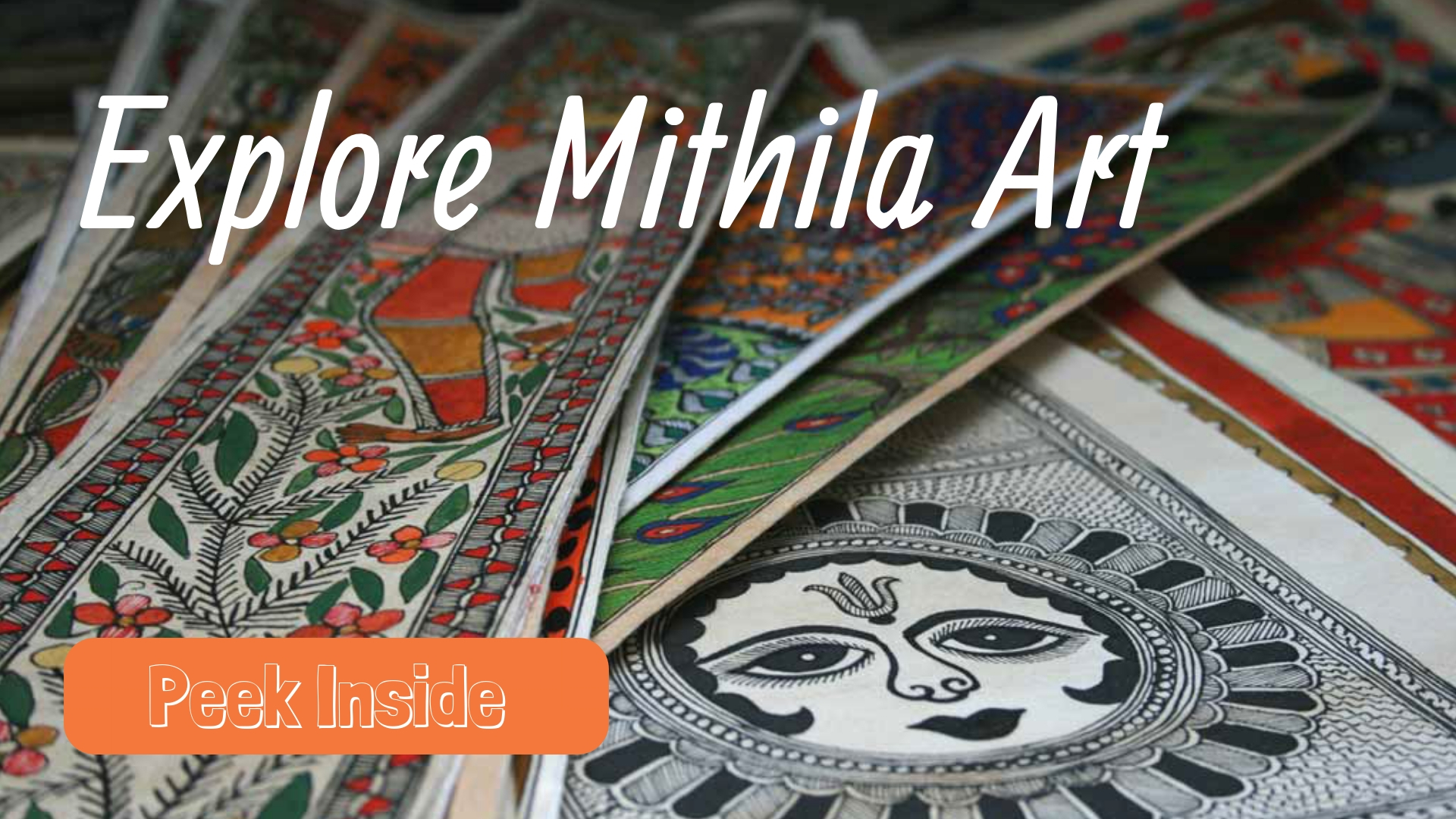 Mithila Art for kids
