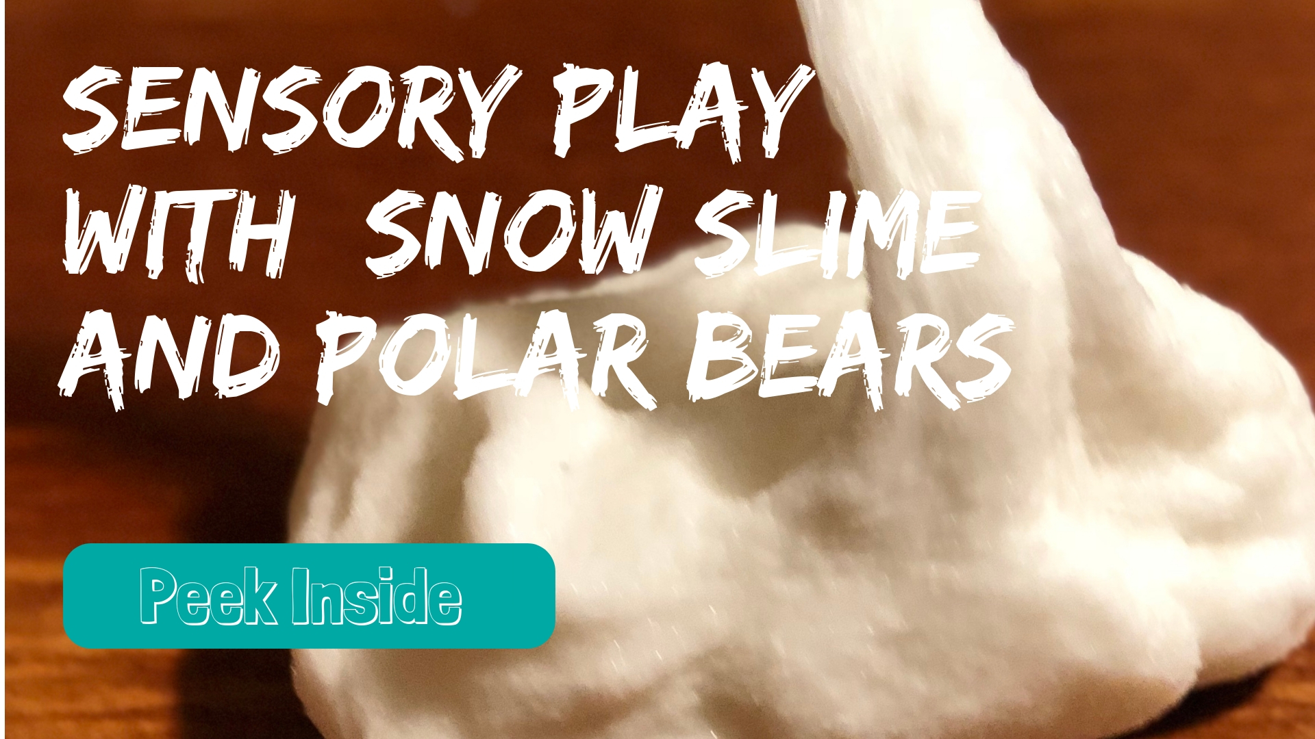 winter sensory play for preschoolers
