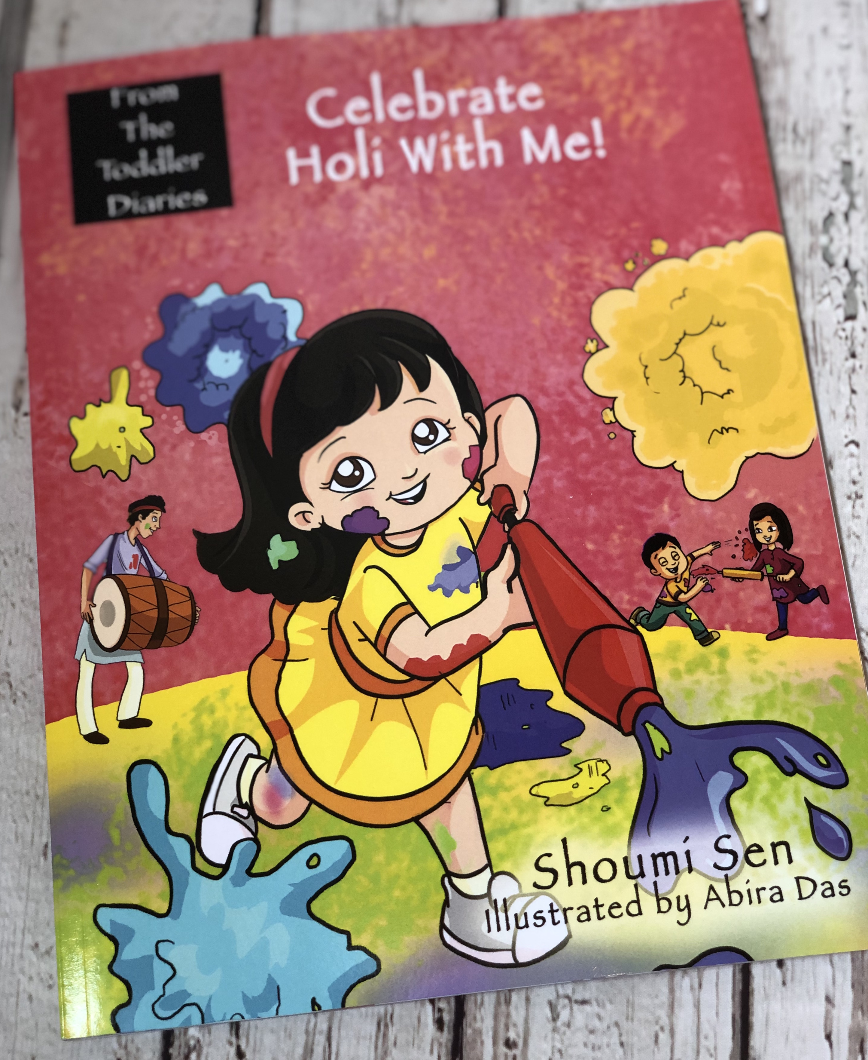 Celebrate Holi With Me