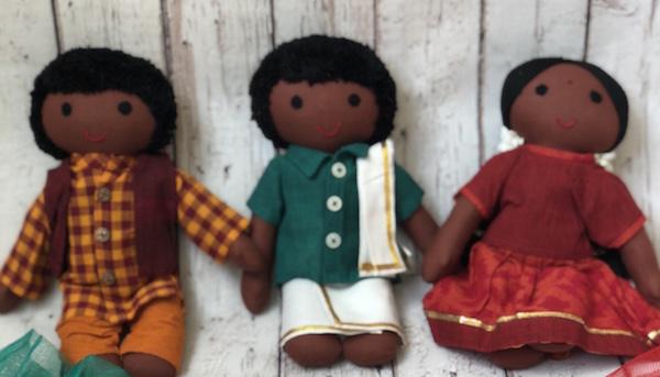 Indian Cloth Doll