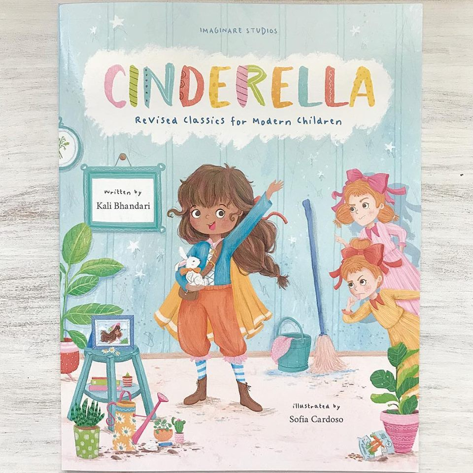 This amazing book diversifies and empowers the Cinderella tale