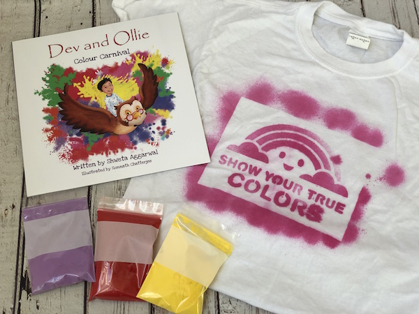 Holi Box for 6 - 8 yr olds