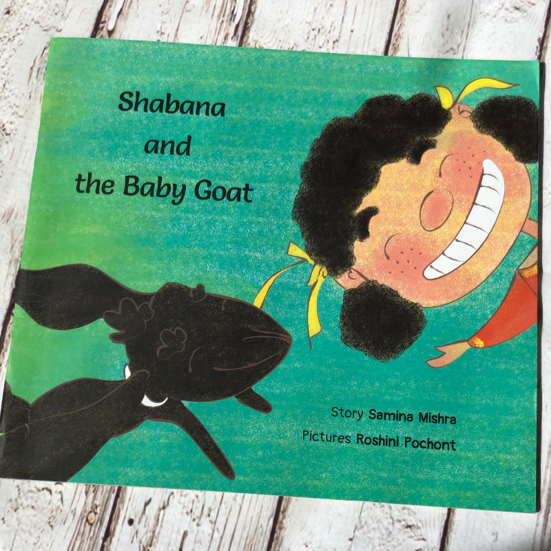 Shabana and the Baby Goat