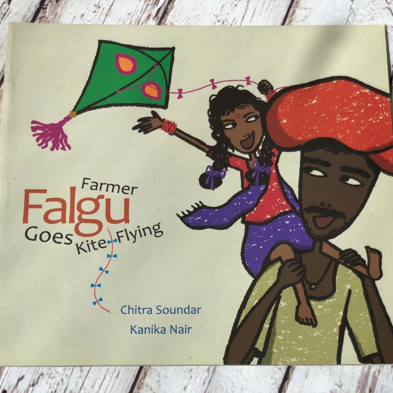Farmer Falgu Goes Kite Flying
