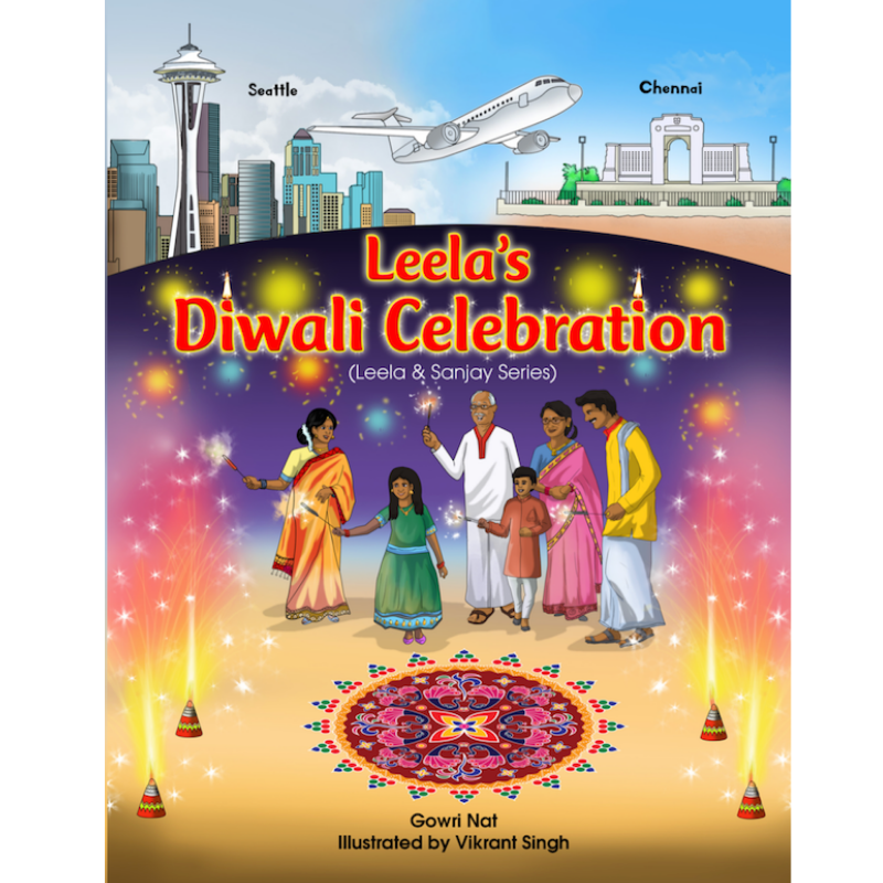 Leela's Diwali Celebration (Leela and Sanjay Series)