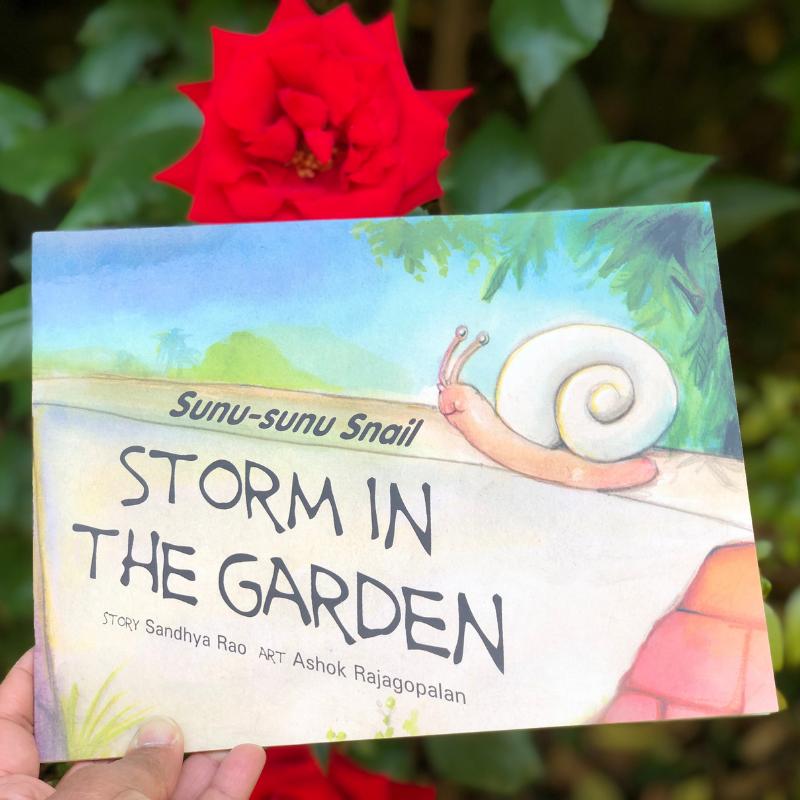 Sunu-Sunu Snail: Storm in the Garden