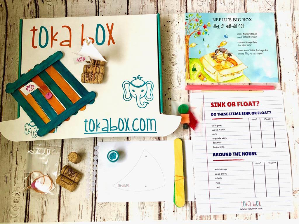 STEM Experiments for Preschoolers - Float or Sink?