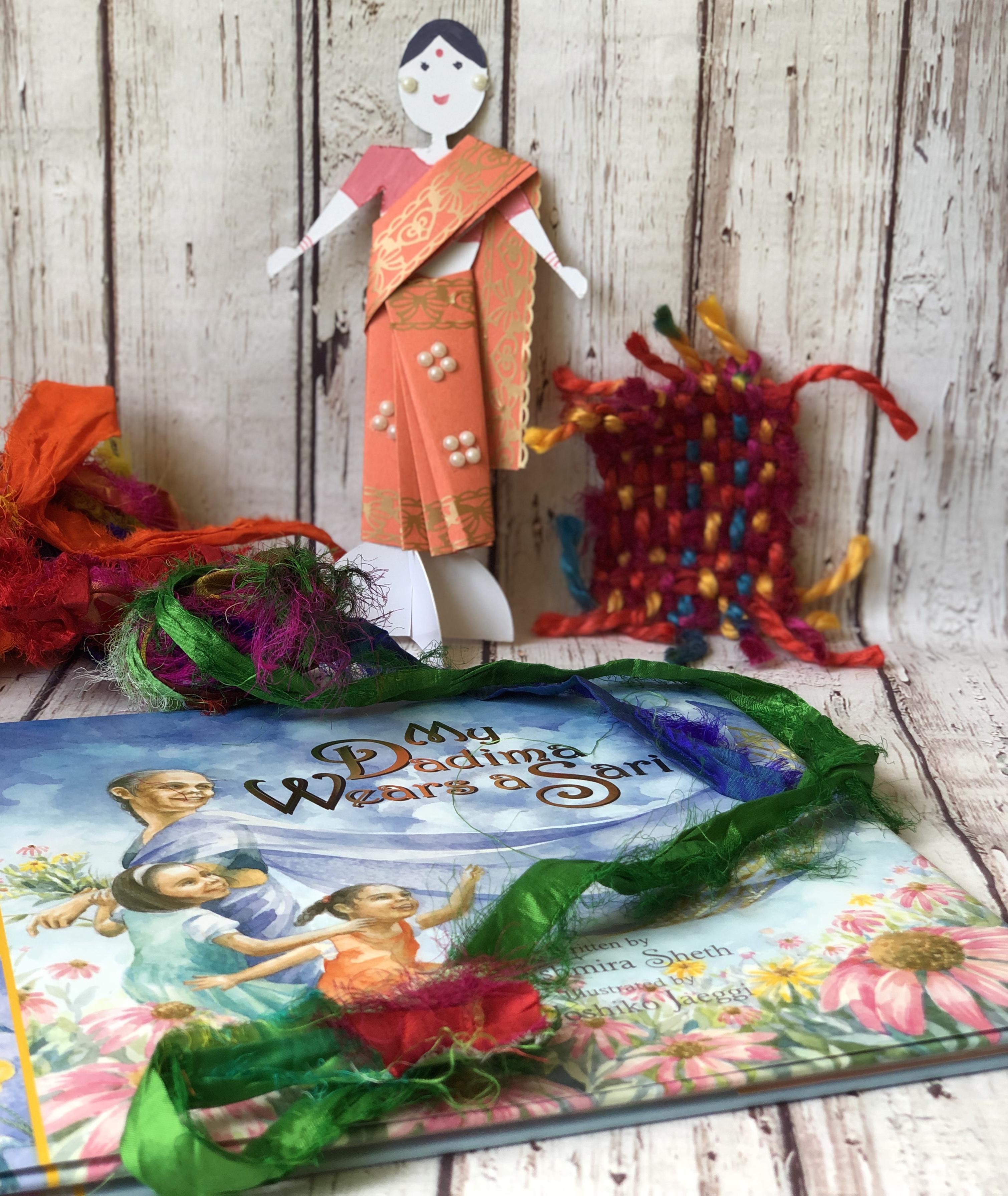 Paper Doll In a Sari