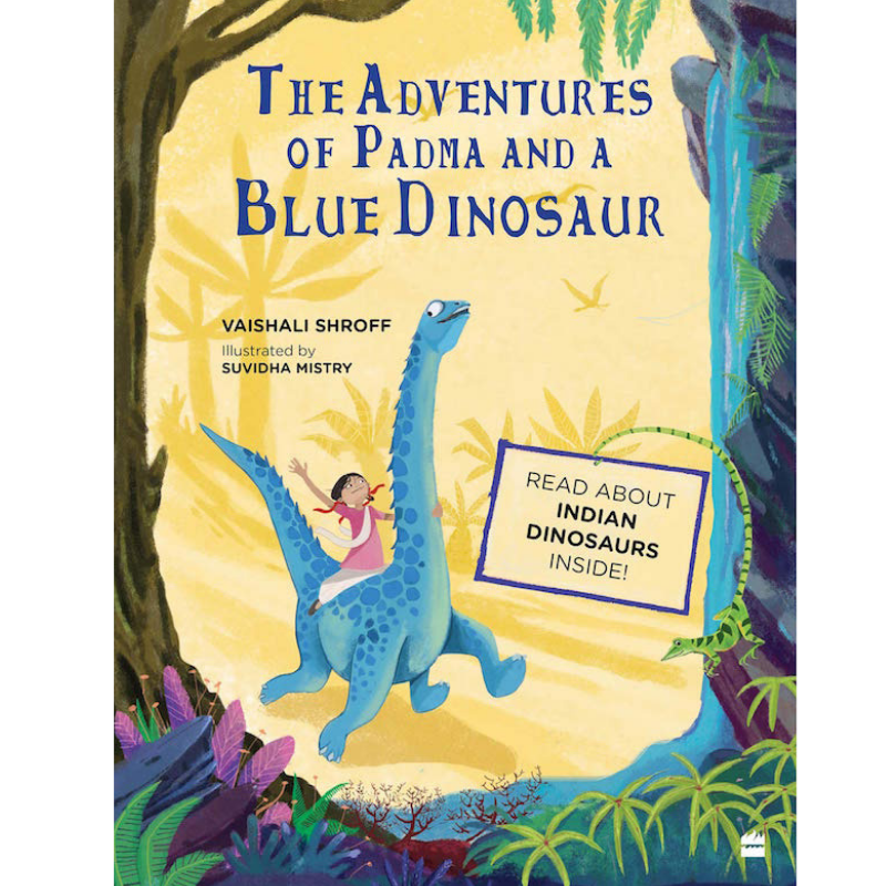 The Adventures of Padma and a Blue Dinosaur