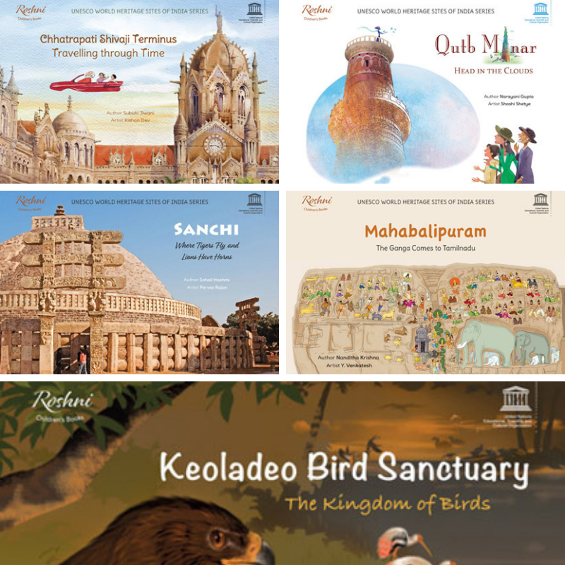 UNESCO WORLD HERITAGE SITES OF INDIA SERIES