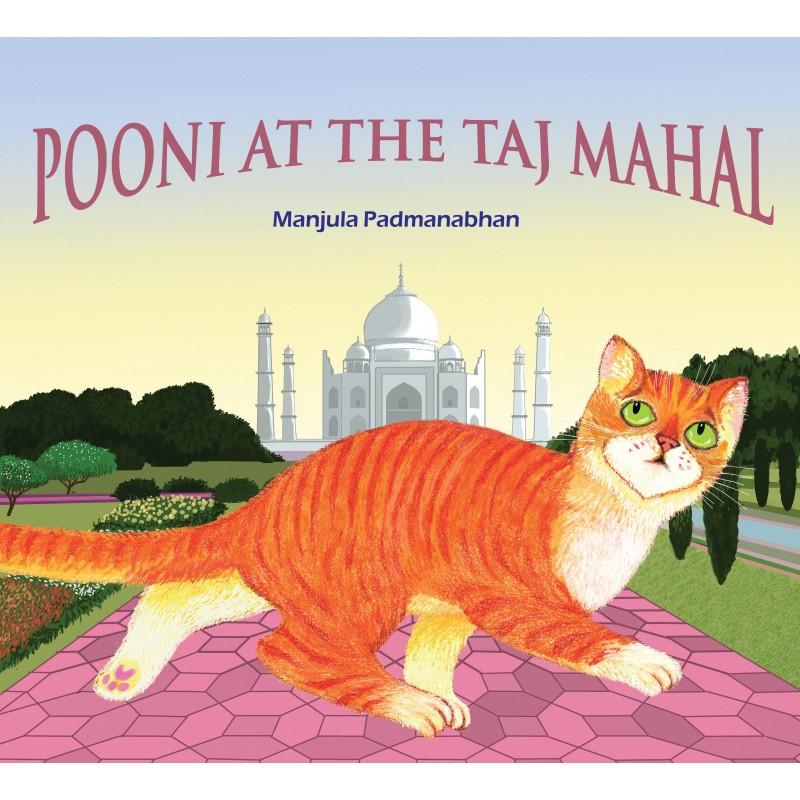 Pooni at the Taj Mahal