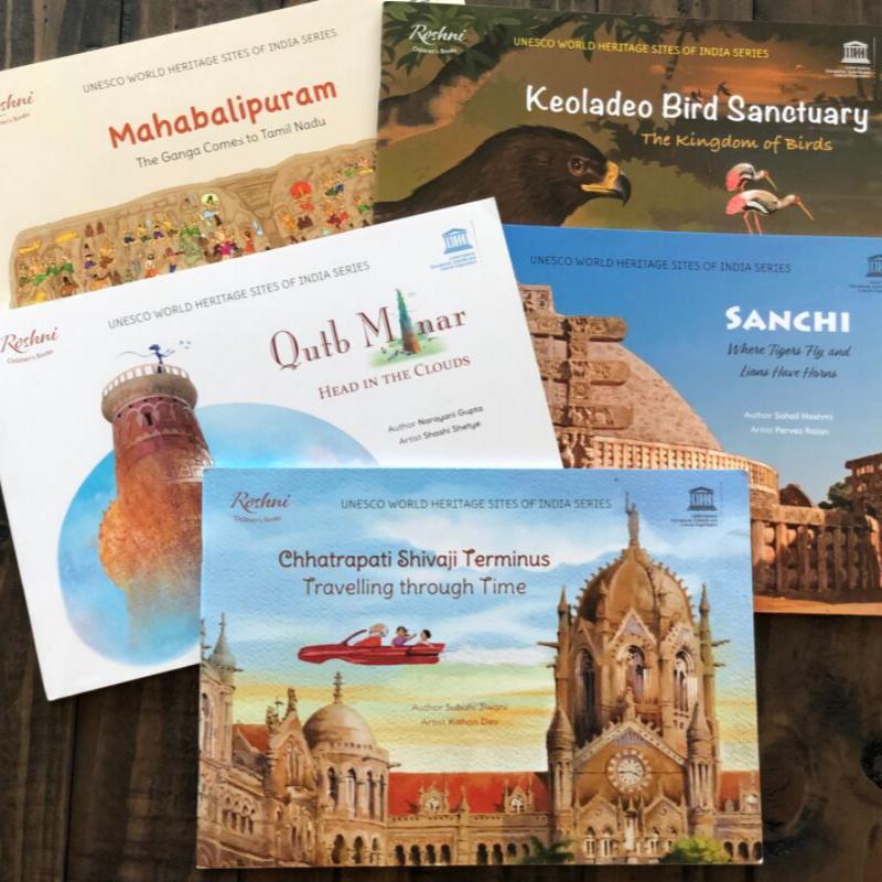 UNESCO WORLD HERITAGE SITES OF INDIA SERIES