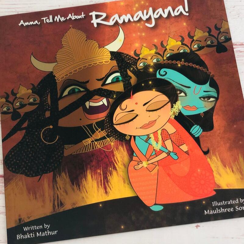 Amma, Tell me About Ramayana