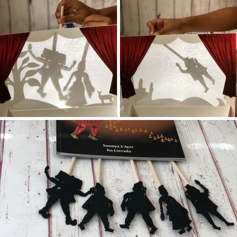 Paper mache Ganesha Mask for Kids