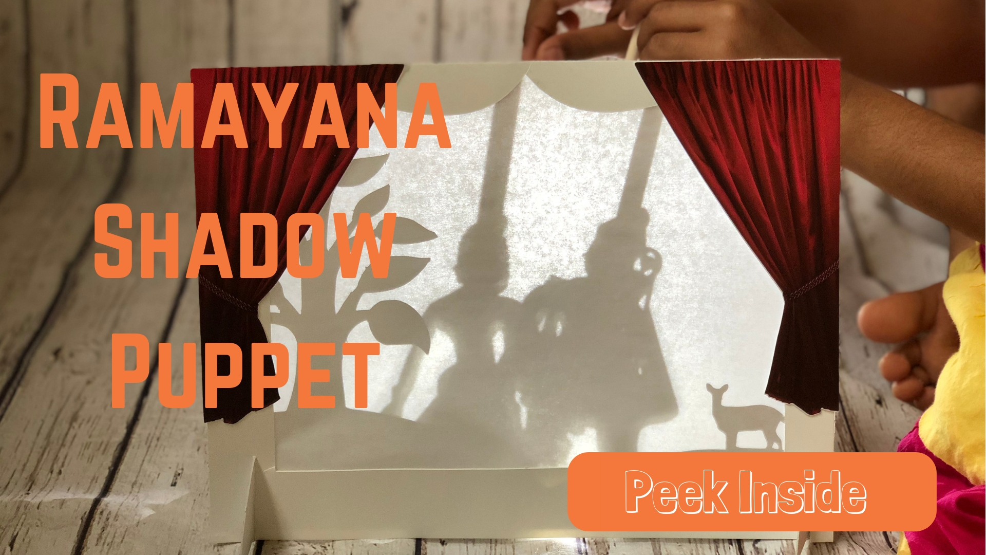 Ramayana Shadow Puppet for Kids