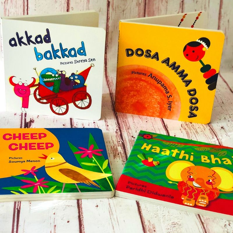 Board Books with Indian Rhymes