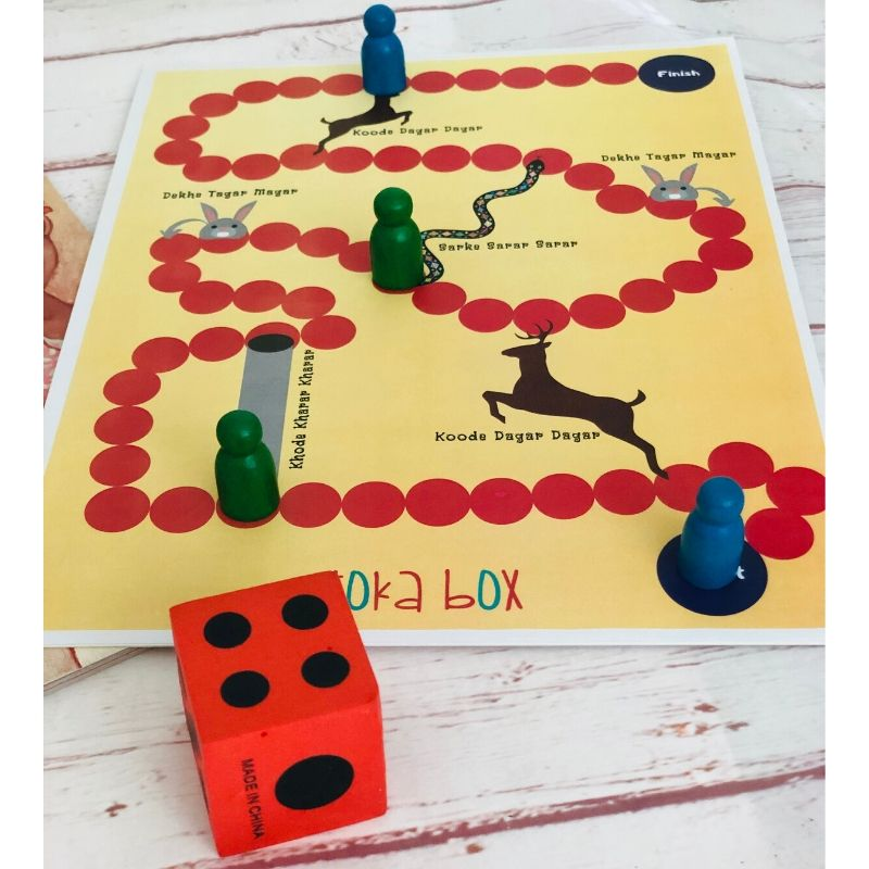 Bilingual Board Game