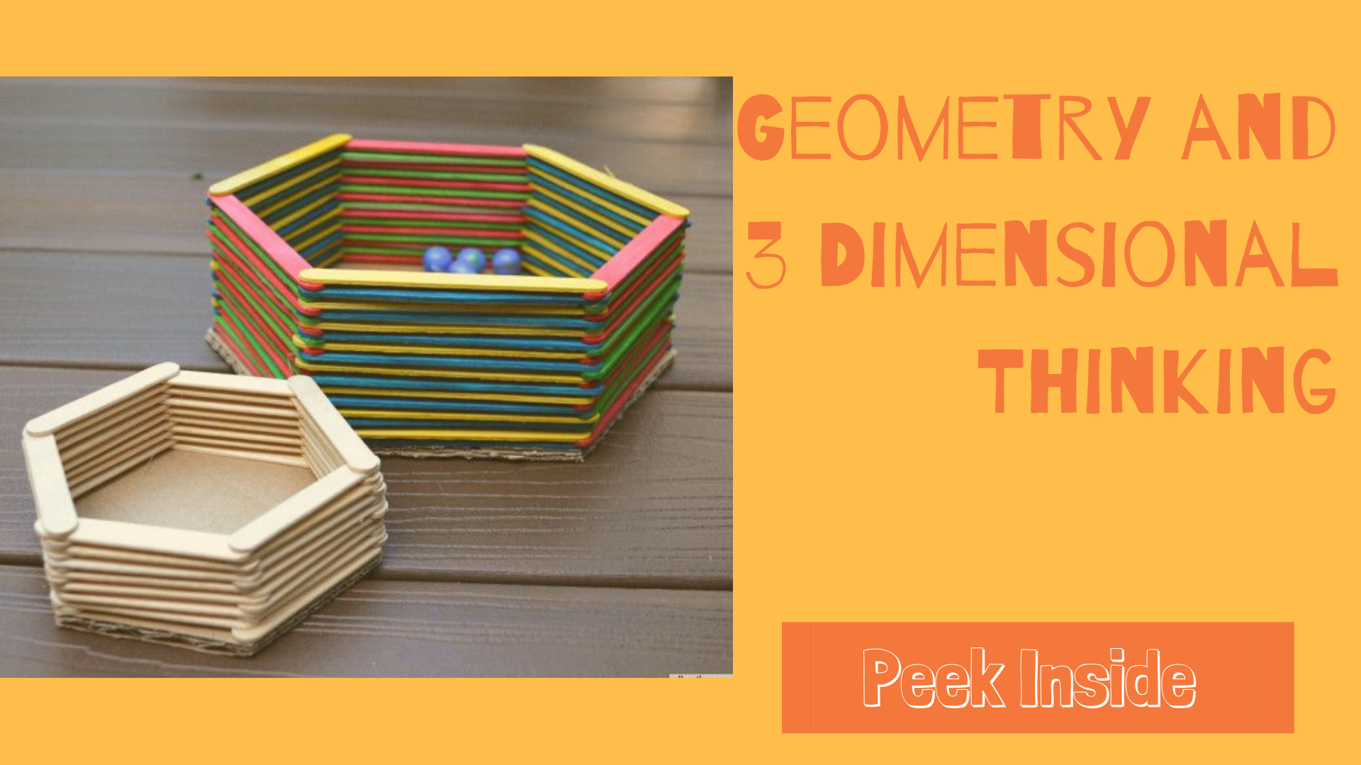 Geometry and 3D thinking for kids