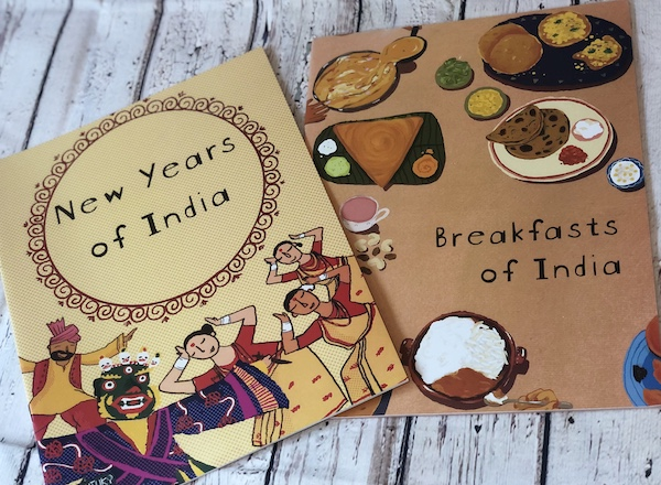 Breakfasts of India and New Years of India -Book Bundle