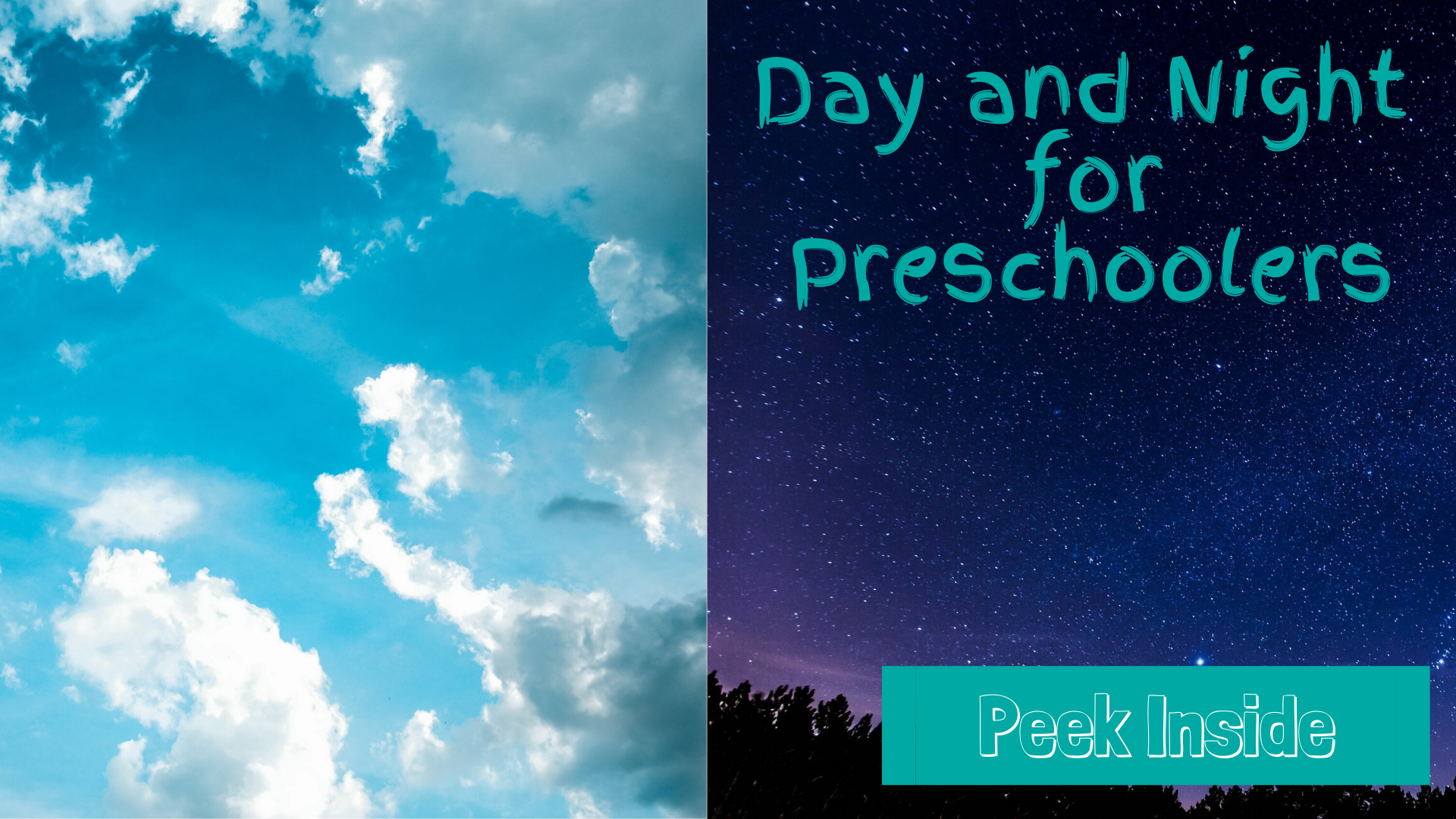 Day and Night for preschoolers
