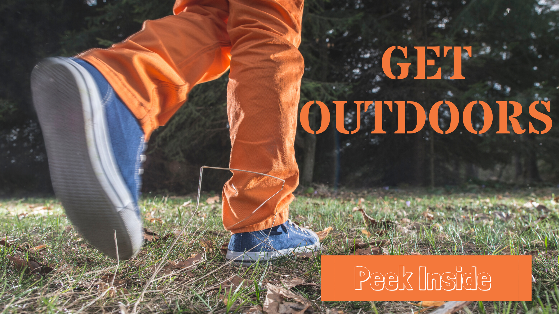 Get Outdoors for a Nature Walk for kids