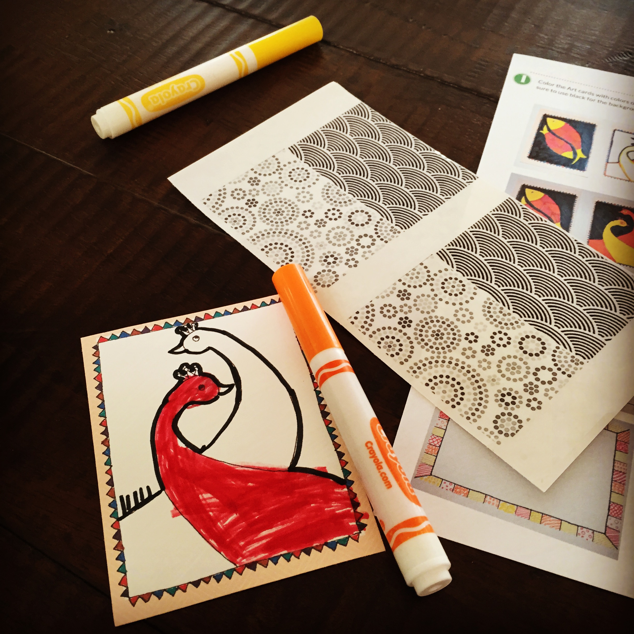 Gond Art for Preschoolers