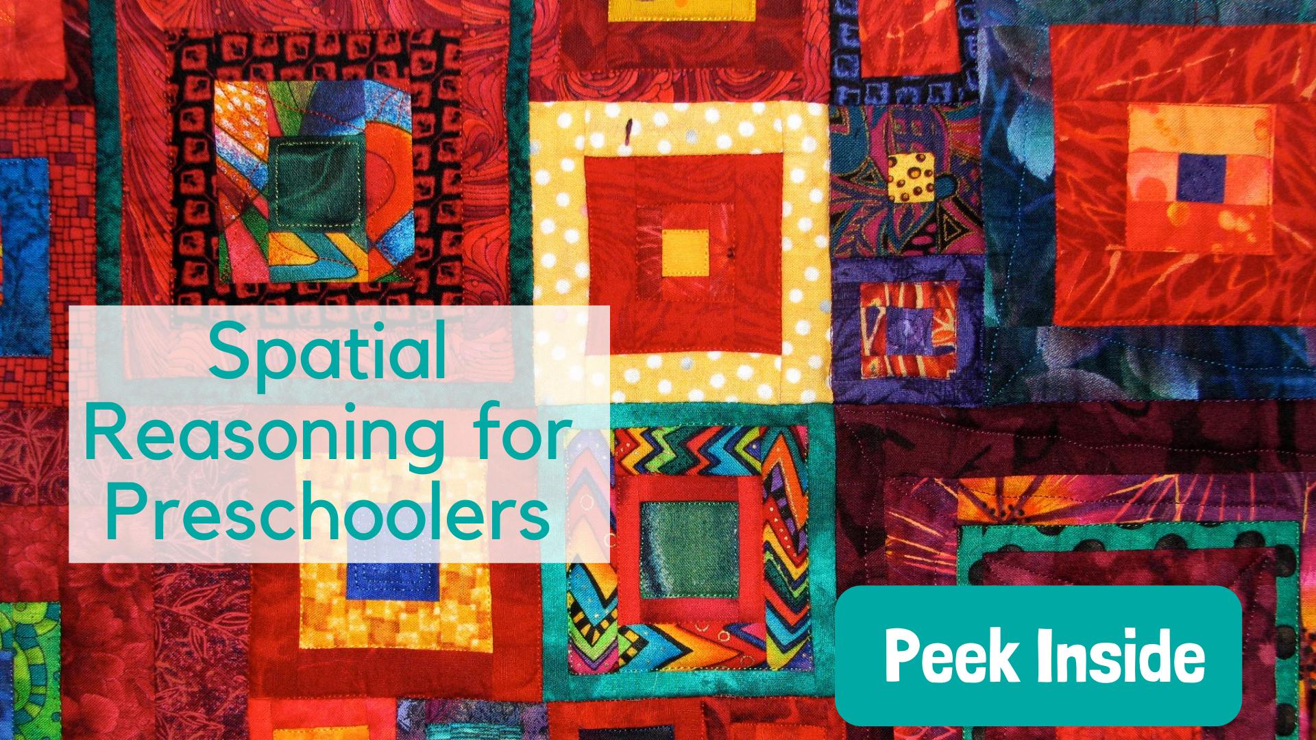 Spatial Reasoning for preschoolers