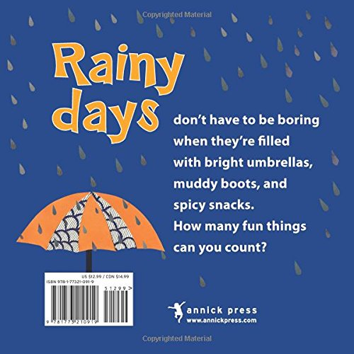 One Rainy Day - A Counting Board book