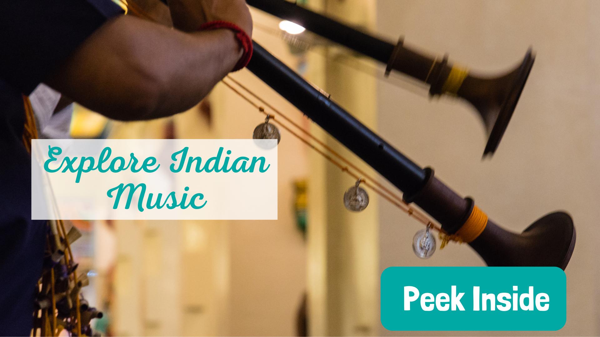 Explore Indian Music for preschoolers