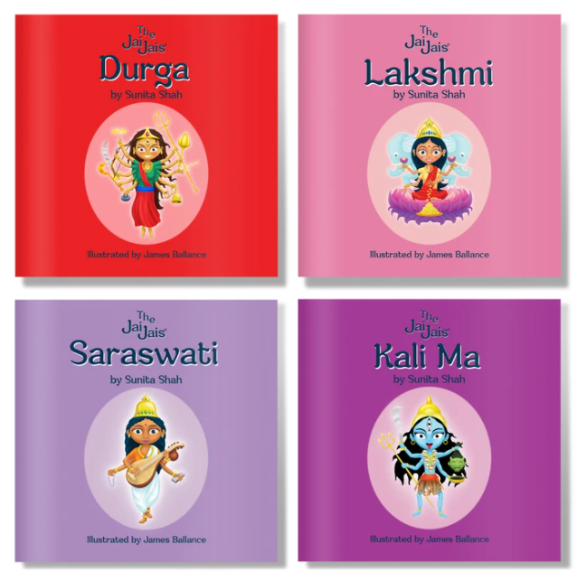 The Jai Jais: The Goddesses 4 Book Set