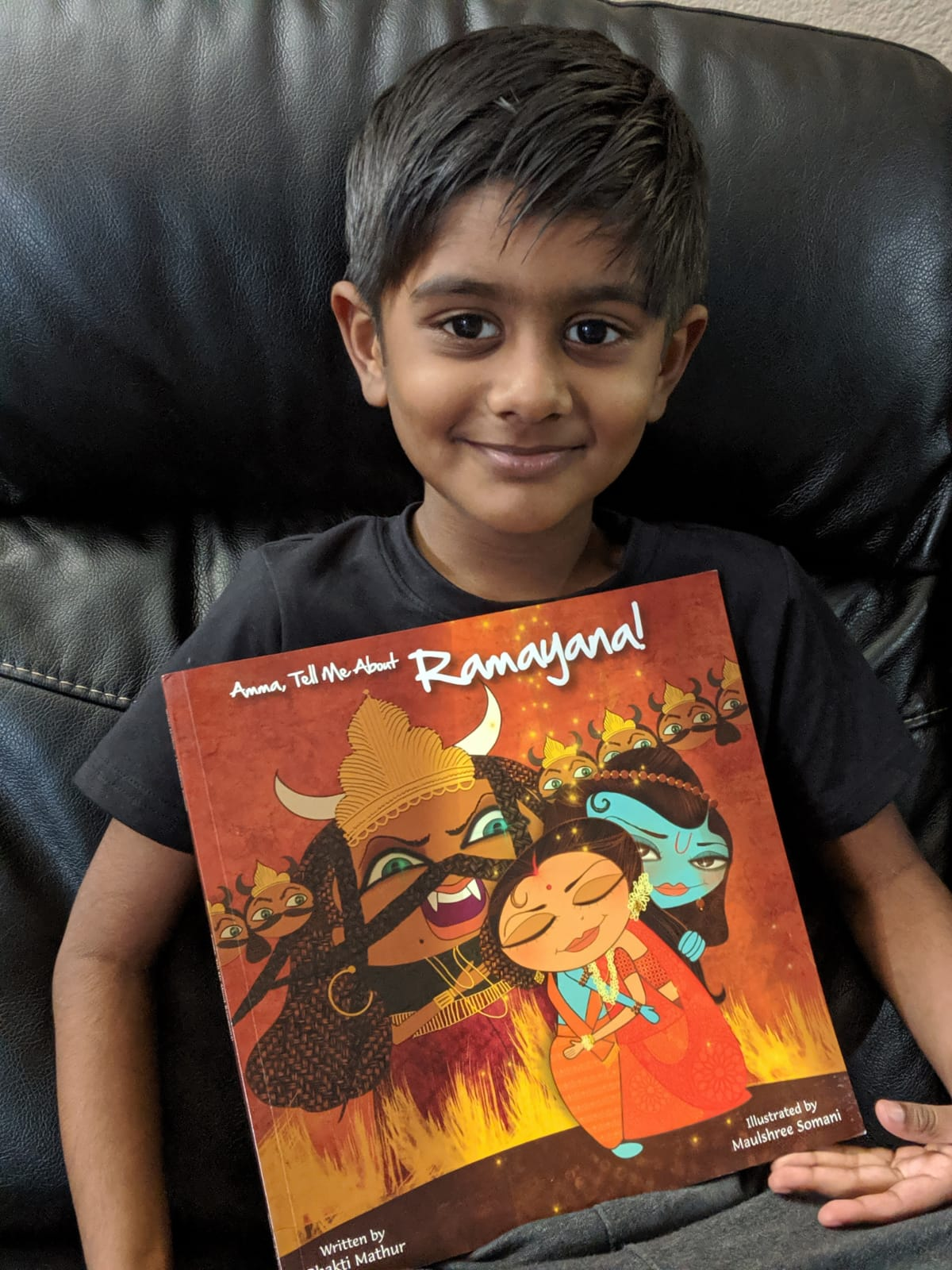 Amma Tell Me about Ramayana