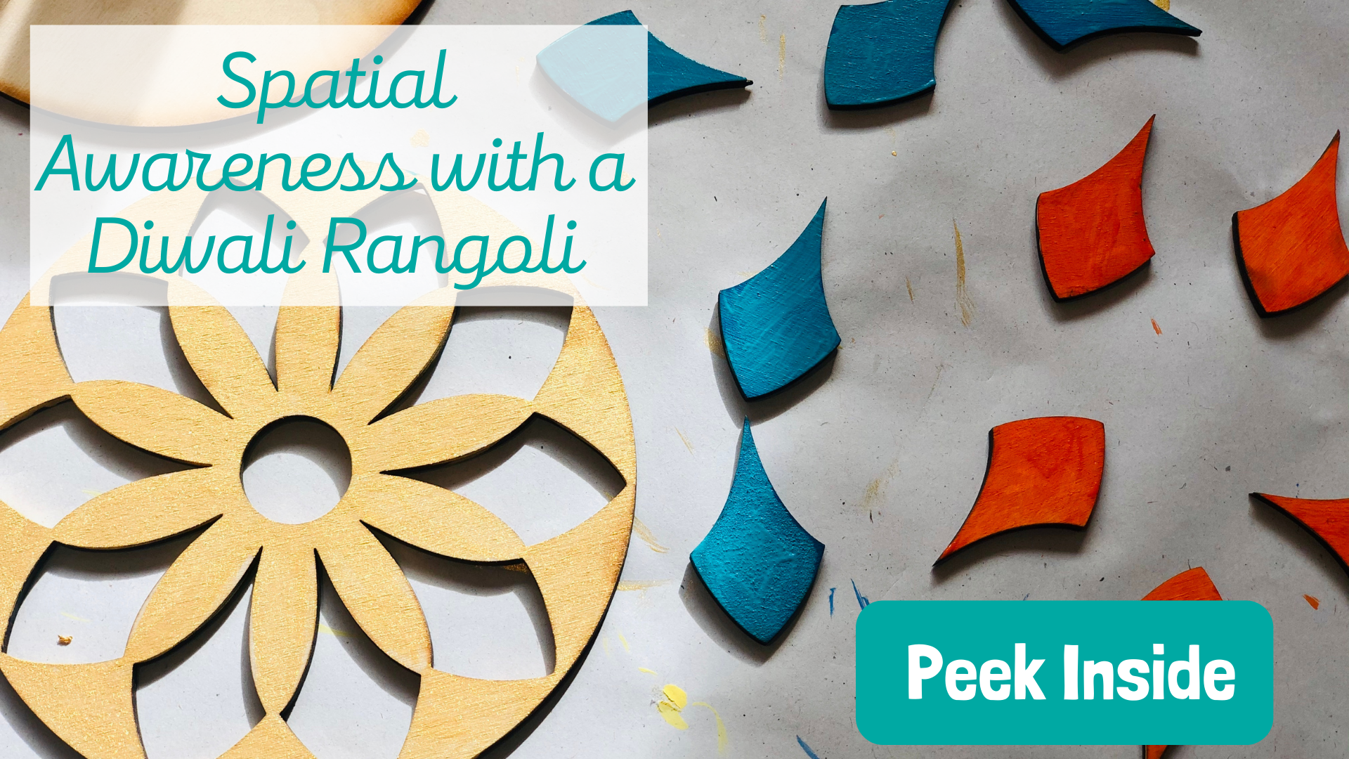 Spatial Awareness with a Rangoli Puzzle