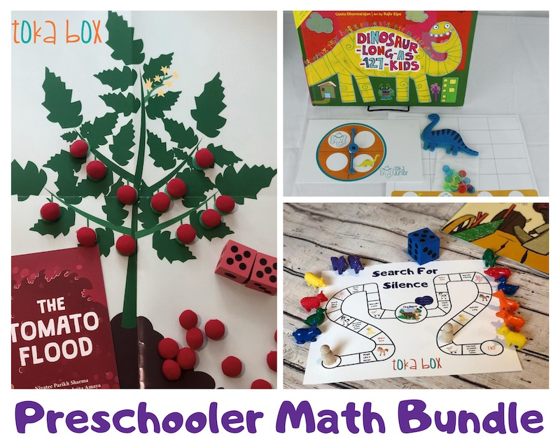 Preschooler Math Bundle