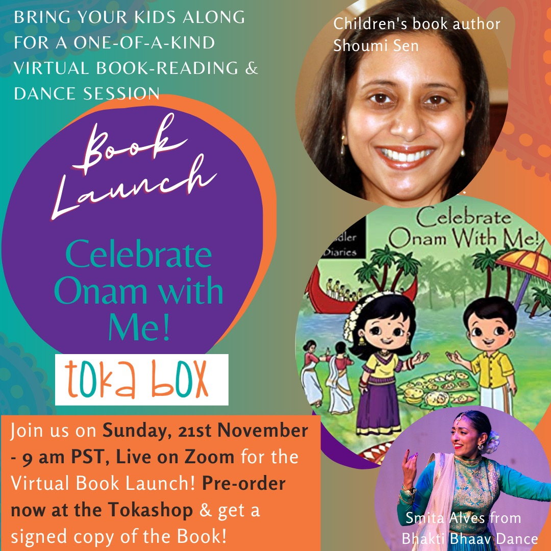 Celebrate Onam With Me Book Launch