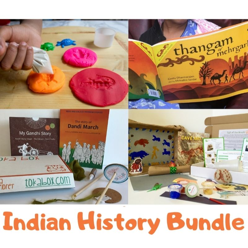 Indian History Bundle from Tokabox