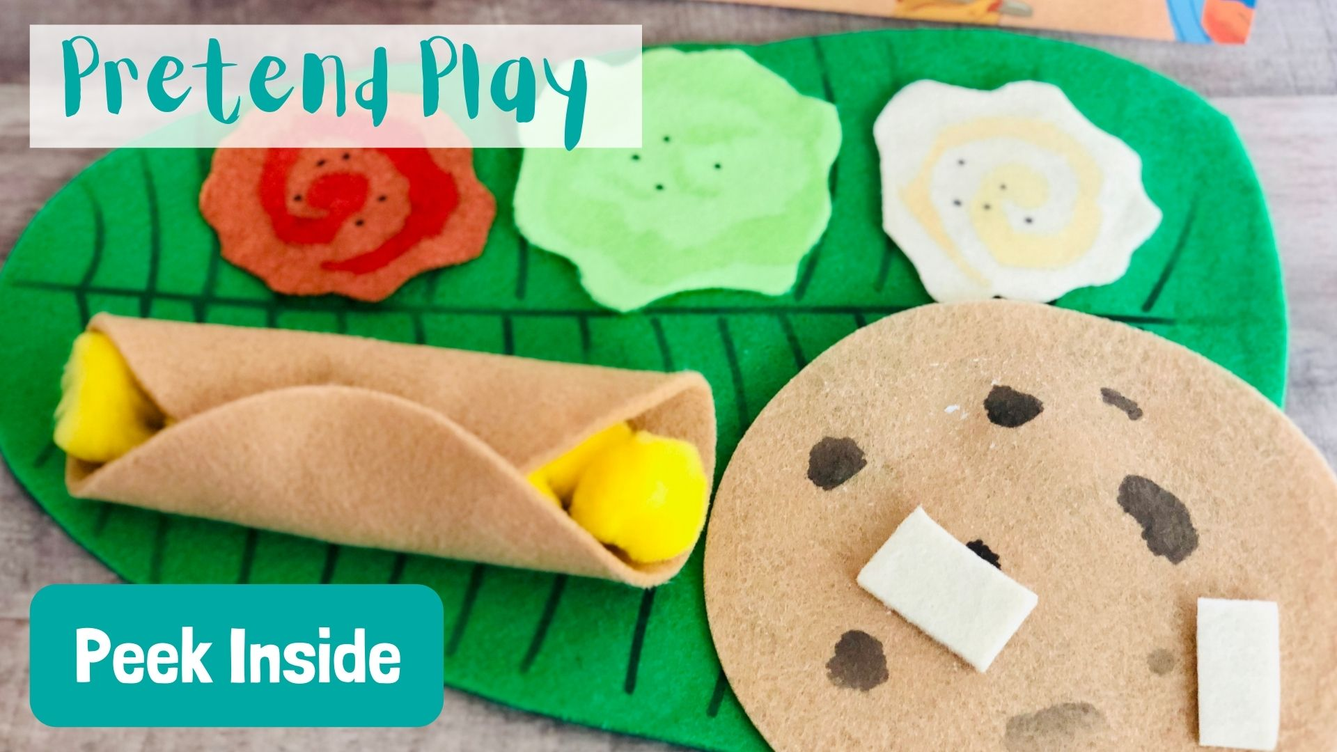 Pretend Play Indian food