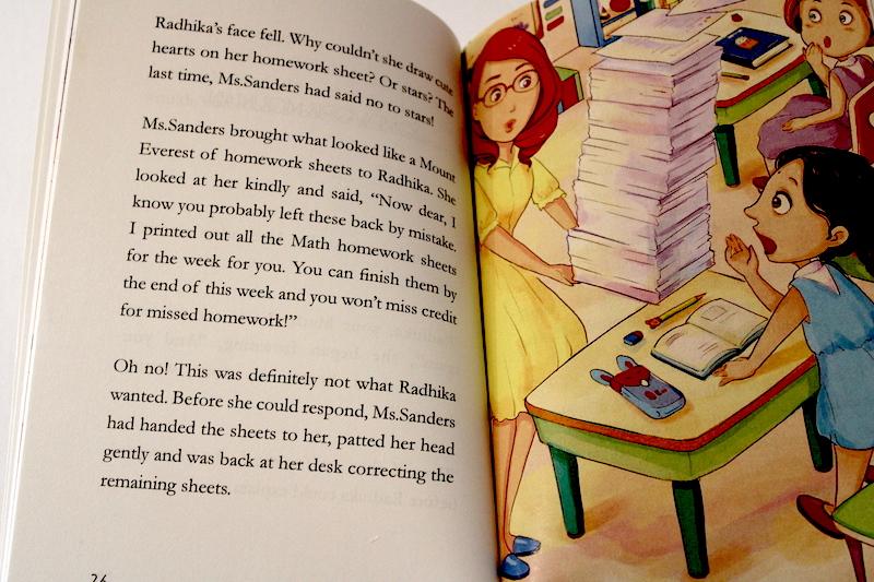 Radhika's Homework Fairy